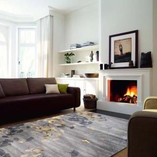 【山德力】經典藝術派地毯 - 千玲 160X230CM(大尺寸 氣派 經典 客廳 起居室 書房 生活美學)
