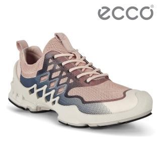 【ecco】BIOM AEX W 健步探索戶外運動鞋 女鞋(裸粉色 80282352127)