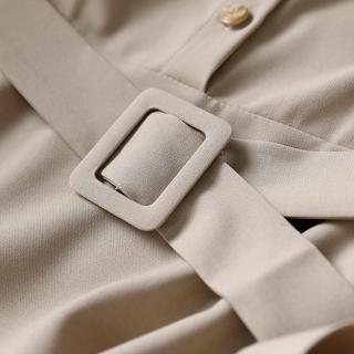 【初色】法式復古收腰連身裙-共2色-97434(M-2XL可選)