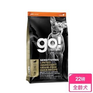 【Go!】低致敏鴨肉無穀全犬配方 22磅(狗 飼料 鴨肉)