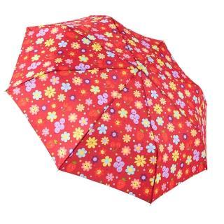 【rainstory】水果花朵-紅抗UV個人自動傘/