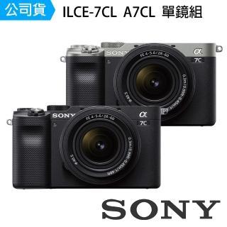 【SONY 索尼】ILCE-7CL A7C + 28-60mm F4-5.6 單鏡組 全片幅單眼相機(公司貨)