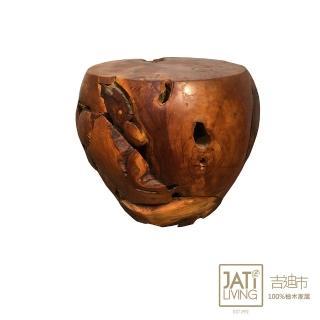 【吉迪市柚木家具】柚木饅頭桌 PP520A(桌子 椅子 花台 置物 復古 展示台)