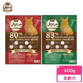 【UDOG】全齡犬飼料 400g〈加購價〉(效期2022/01)