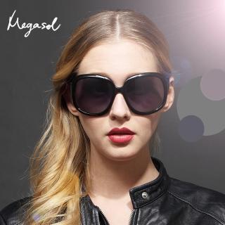 【MEGASOL】品牌設計師同款寶麗萊UV400偏光太陽眼鏡(MS-3113-6色任選)/