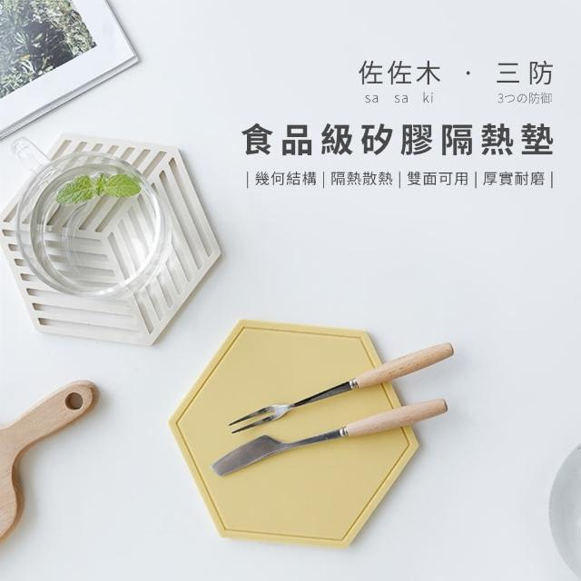 【ComfyZone】Sasaki佐佐木三防食品級矽膠隔熱墊/