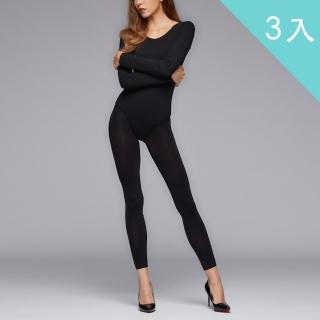 【佩登斯】90D超細纖維極柔軟保暖九分褲襪(3入)
