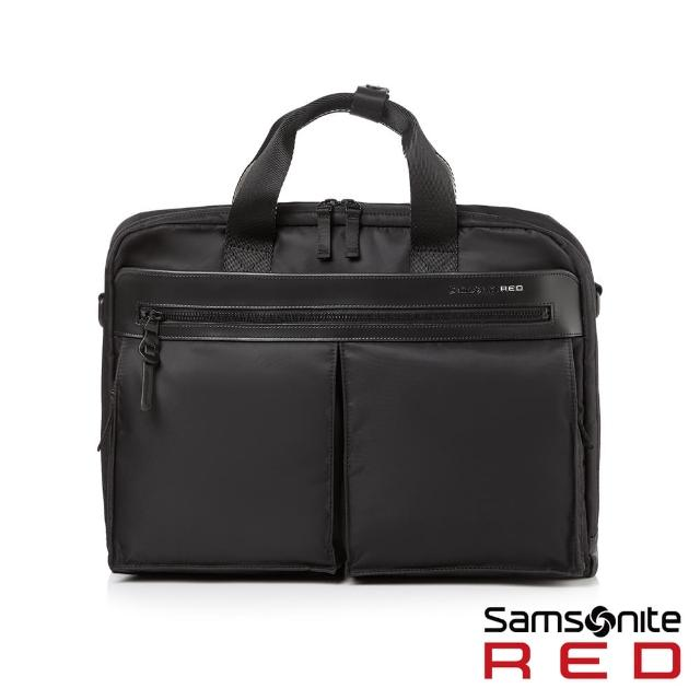 【Samsonite RED】WILLER 城市商務尼龍筆電公事包15.6(多色可選)