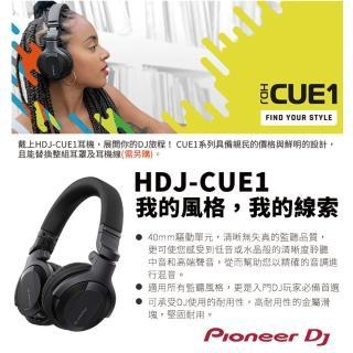 【Pioneer DJ】DDJ-200控制器+HDJ-CUE1+攜行收納袋(CUE1玩出自我風格)