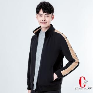 【JYI PIN 極品名店】動感型男立領運動夾克_黑(KW803-88)