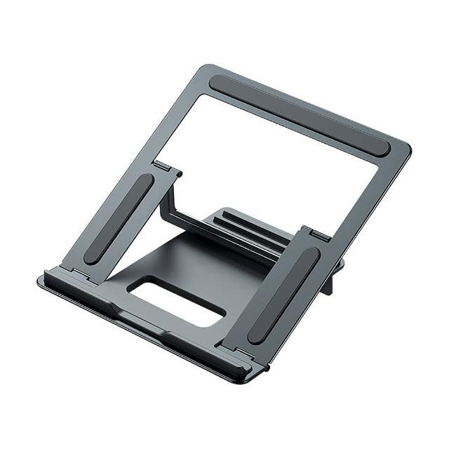【OMG】T8 筆記型電腦散熱支架 鋁合金結構 筆電支架 筆電架 散熱架 電腦架(折疊便攜電腦散熱架)