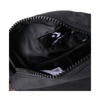 【CONVERSE】CROSS BODY 2 男女 側背包 黑(10020245-A02)