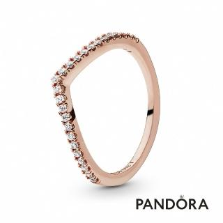 【Pandora官方直營】閃爍許願骨寶石戒指/