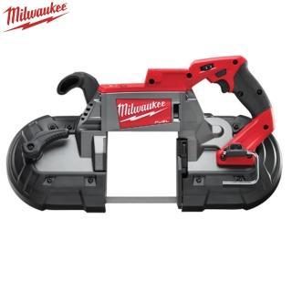雙11限定【Milwaukee 美沃奇】18V鋰電無碳刷帶鋸機空機(M18CBS125-0)