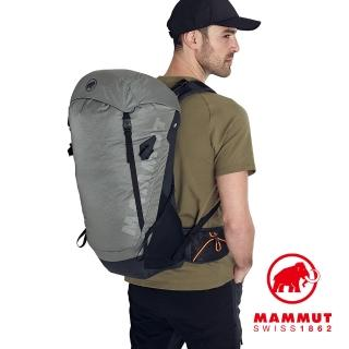 【Mammut 長毛象】Ducan 24L 輕量健行後背包 花崗岩灰 #2530-00350