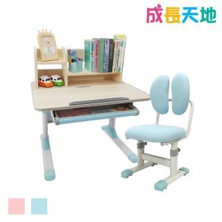 【成長天地】兒童書桌椅 80cm桌面 可升降桌椅 成長桌椅 兒童桌椅(ME101+AU100)