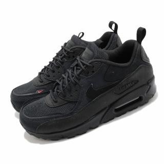 【NIKE 耐吉】休閒鞋 Air Max 90 Surplus 男鞋 氣墊 舒適 避震 皮革 質感 軍事風格 黑(CQ7743-001)