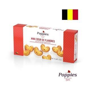 【POPPIES 帕皮思】比利時帕皮思迷你型奶油酥餅125公克(進口零食)