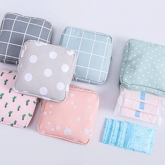 【E.dot】防潑水衛生棉收納包/