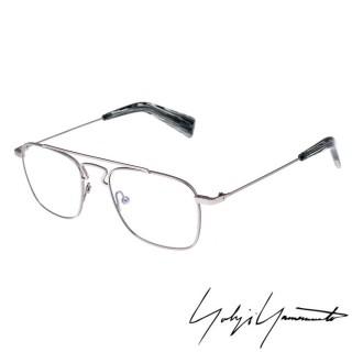 【Y-3 山本耀司】Yohji Yamamoto方型時尚造型光學眼鏡(銀-YY3005-903)