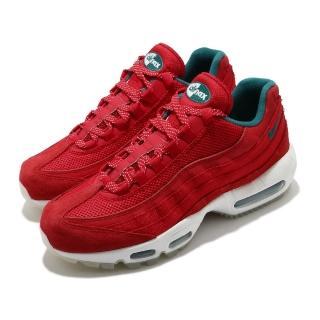 【NIKE 耐吉】休閒鞋 Air Max 95 Utility 男鞋 經典款 氣墊 舒適 避震 球鞋 穿搭 紅 綠(CT3689-600)