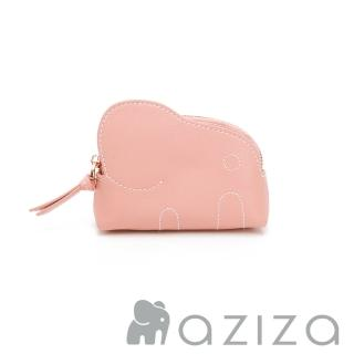 【aziza】小象零錢包(柔情粉)