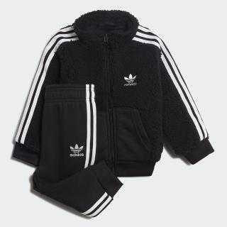【adidas官方旗艦館】運動套裝 男童/女童(GD2649)