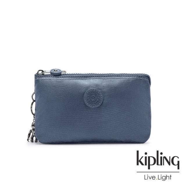 【KIPLING】牧場彩繪風格翻蓋手提側背包-ZEVA/