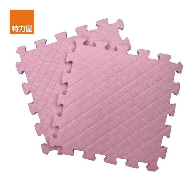 【特力屋】EVA安全地墊4坪16包-144片-粉色/