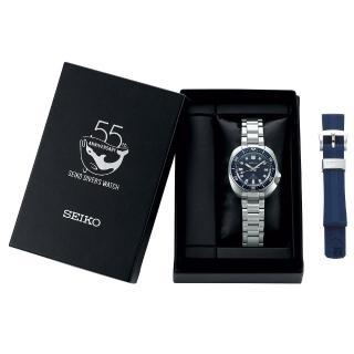 【SEIKO 精工】潛水錶55週年限量款 Prospex 200米潛水機械錶-42.7mm(SPB183J1/6R35-01G0B)