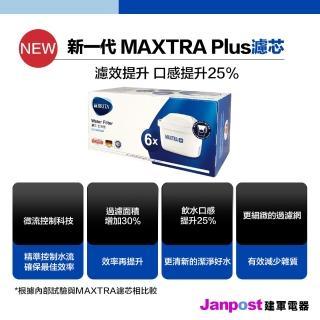 【BRITA】全效型 德國 BRITA MAXTRA+ MAXTRA PLUS 濾芯 濾心 6入 濾水壺專用(原廠盒裝)