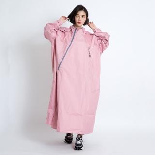【Bright Day 君邁】Double雙拉鍊斜開連身雨衣D1(機車雨衣、戶外雨衣)