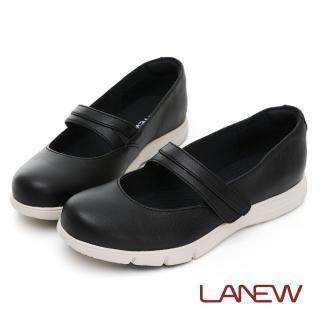 【LA NEW】outlet 飛彈輕量休閒鞋 娃娃鞋(女31260256)