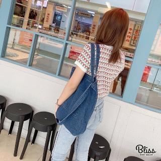 【Bliss BKK】經典時尚兩用牛仔布包 百搭休閒(2色可選)