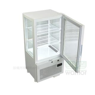 【WARRIOR 樺利】日本JCM 直立四面玻璃冷熱櫃 SC/SH-58F(四面玻璃)
