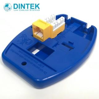 【DINTEK】資訊插座壓接輔助底座(適用於