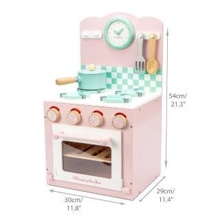 【LE TOY VAN】角色扮演系列-烤箱瓦斯爐小廚師大型木質玩具組(TV303)