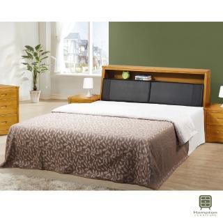 【Hampton 漢汀堡】康納實木5尺床組(一般地區免運費/床組/雙人床)