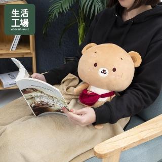 【生活工場】森林好朋友-憨憨熊玩偶