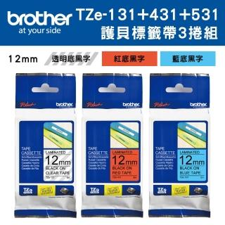【brother】TZe-131+431+531