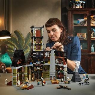 【LEGO 樂高】Creator Expert 遊樂場鬼屋 10273 鬼屋 遊樂園(10273)