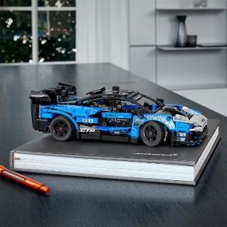 【LEGO 樂高】科技系列 McLaren Senna GTR 42123 跑車 麥拿侖(42123)