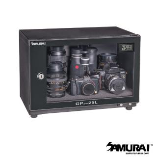 【SAMURAI 新武士】GP3-25L 數位電子防潮箱(公司貨)