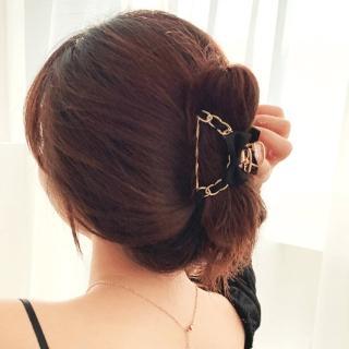 【UNICO】韓版甜姐兒金屬蝴蝶結緞帶髮夾/髮抓(髮飾/配件/蝴蝶結/黑色/粉紅色/紅色/白色)