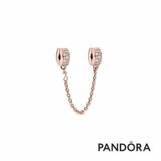 【Pandora官方直營】密鑲寶石安全鏈