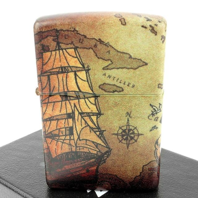 【Zippo】美系~Pirate Ship-海盜船-540色彩印工法打火機