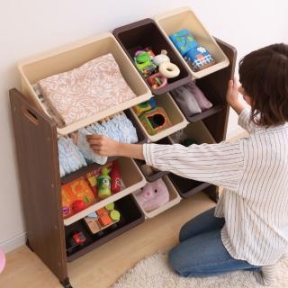 【IRIS】童心玩具收納架 KTHR-412(兒童學習/收納/玩具/日本設計)
