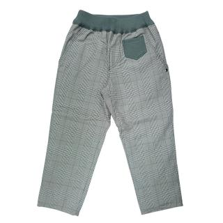 【goomi】台灣第一文創童裝 - 小童雙層內刷毛格紋褲