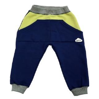 【goomi】台灣第一文創童裝 - 小童跳色大絨縮口褲(共2色)