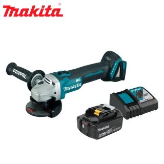 【MAKITA 牧田】18V充電式平面砂輪機 5.0單電組(DGA406RG1)